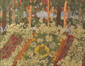 Impressionism with Pressed Flowers