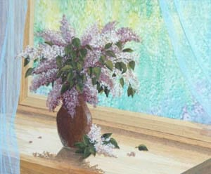 Lilac at the Window