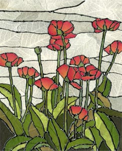 Pressed Flower Stained Glass Projects